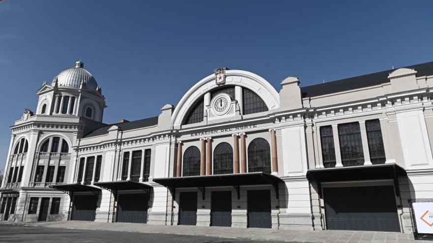 """El teatro de la estación de Príncipe Pío nace para ser un """"icono"""" de Madrid"""