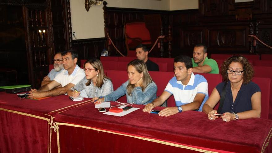 En la imagen, los nuevos concejales electos de los distintos grupos que, a partir del 13 de junio, conformarán la Corporación de la capital.