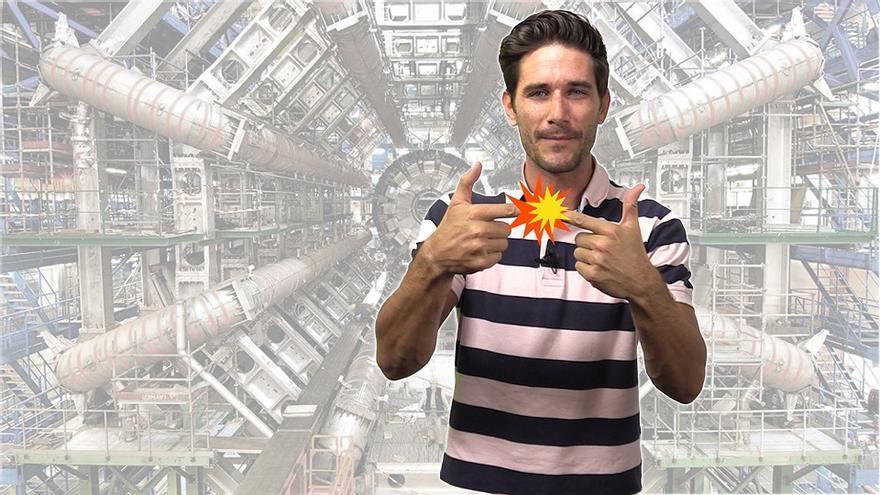 Javier Santaolalla nos explicó cómo funciona el gran colisionador de hadrones en eldiario.es