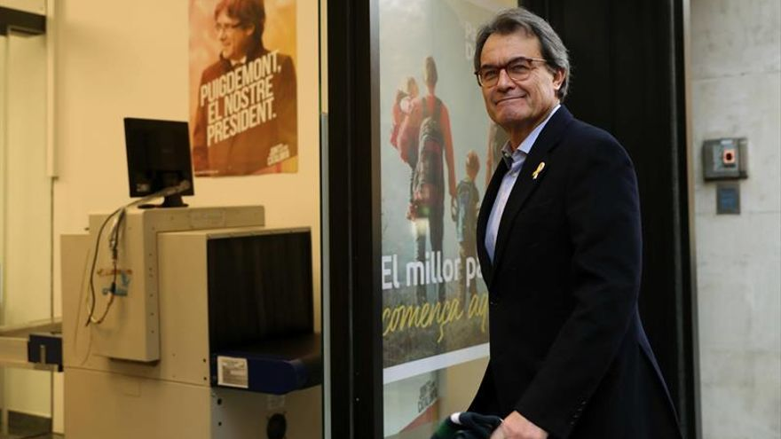 Artur Mas afirma que JxCat ha servido para ampliar la base social del PDeCAT