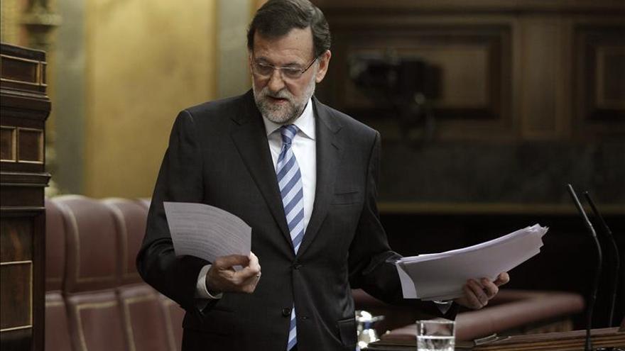 Rajoy hablará en su regreso al Senado del déficit y la amnistía fiscal