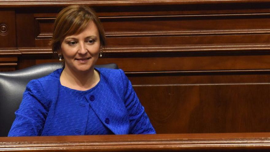 Nieves Lady Barreto es consejera de Política Territorial del Gobierno de Canarias.