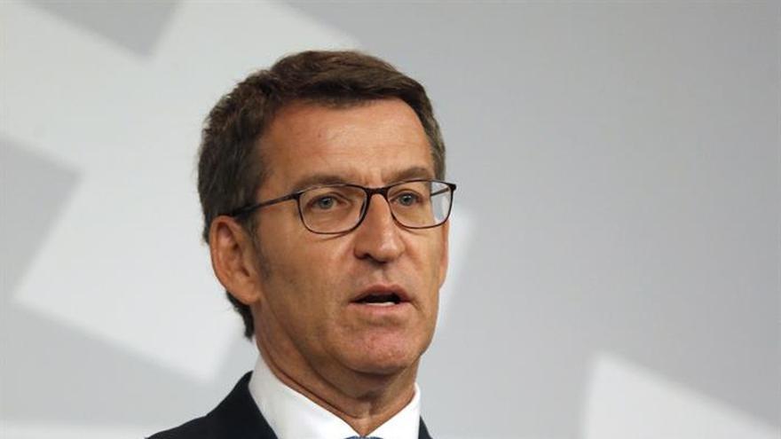 Feijóo pide el voto a indecisos de Ciudadanos y PSOE para una mayoría estable