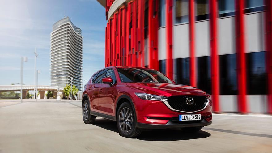 Mazda se ha inspirado en la naturaleza para el diseño exterior del CX-5.