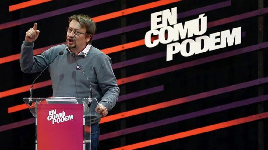 """Domènech arremete contra el PSC y le pide que """"no sea el PSOE de Susana Díaz"""""""