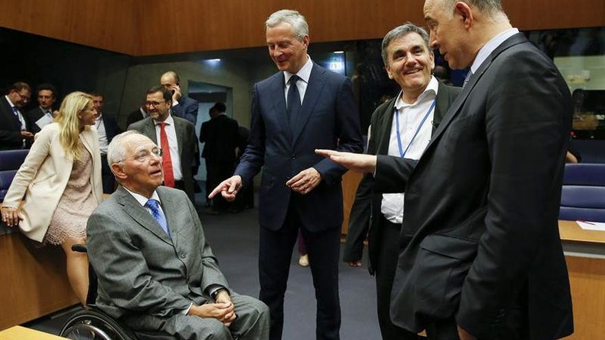 Los ministros de la eurozona confían en aprobar un nuevo desembolso para Grecia