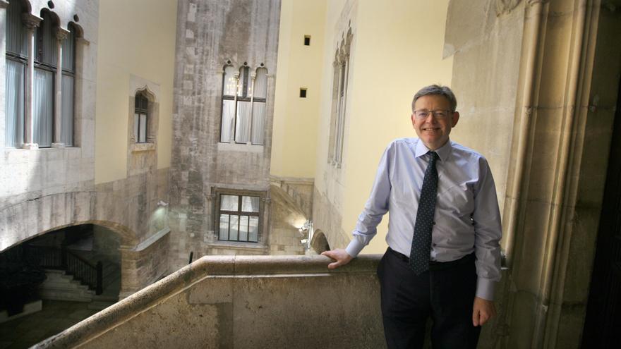 Ximo Puig en el Palau de la Generalitat Valenciana.
