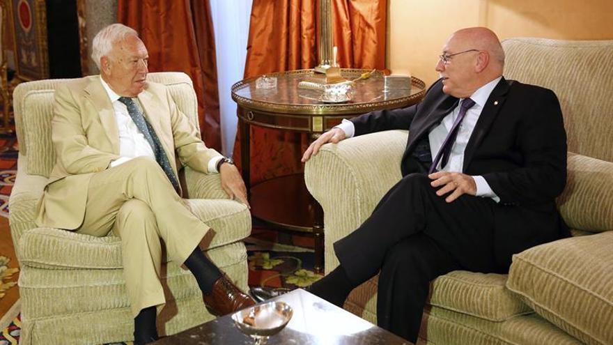 Margallo defiende hablar con los nacionalistas pero no sobre la unidad de España