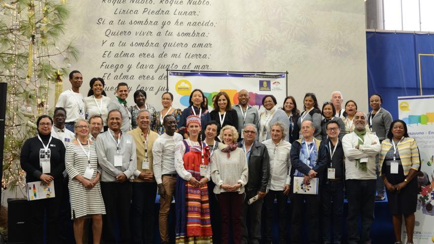 Primer 'Desayuno-Encuentro con las comunidades nacionales y de inmigrantes en Gran Canaria' organizado por el Cabildo
