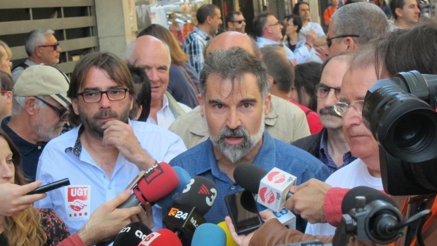 """Cuixart (Òmnium): """"En Cataluña no hay mayor cuestión nacional que los derechos sociales"""""""