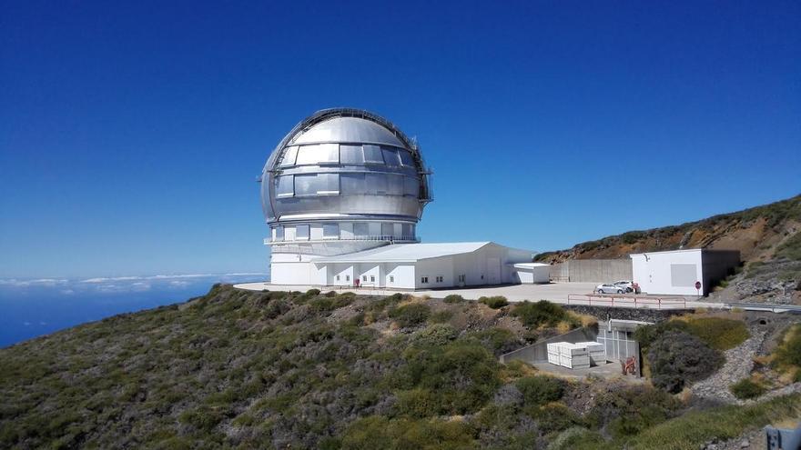 En la imagen, el Gran Telescopio Canarias.