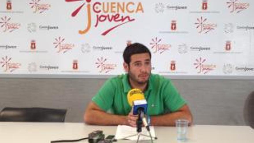 Manuel Martínez Gascueña, concejal de juventud de Cuenca / Foto: Ayuntamiento