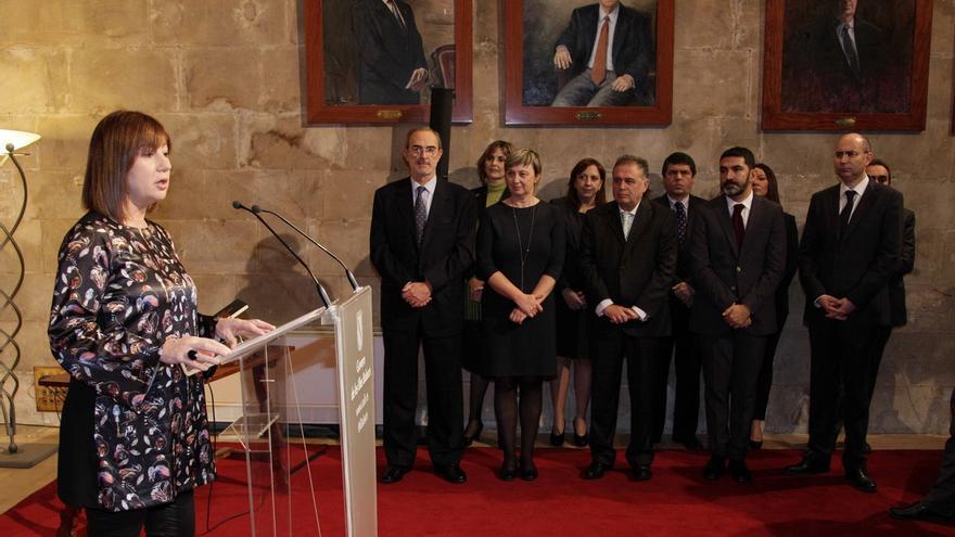 La presidenta de Baleares, Armengol, asegura que el Consell Consultiu incrementará sus competencias temporalmente