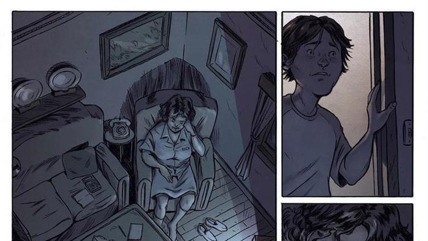 """""""Ojos grises"""", un retrato de la juventud y la Barcelona de los 90 en cómic"""