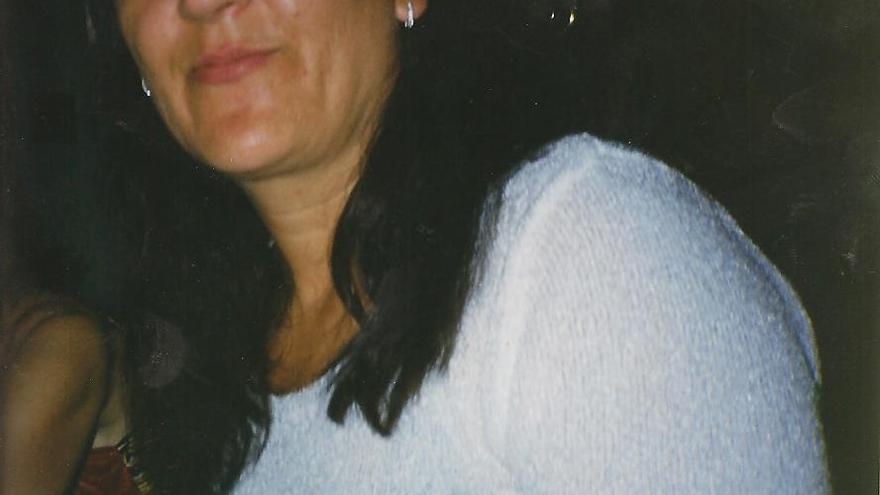Nieves García, antes de entrar en la cárcel
