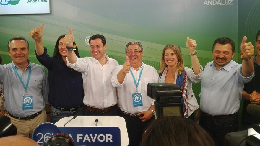 """Moreno (PP-A): """"No se ha producido el esperado sorpasso y sí el surpasso"""""""