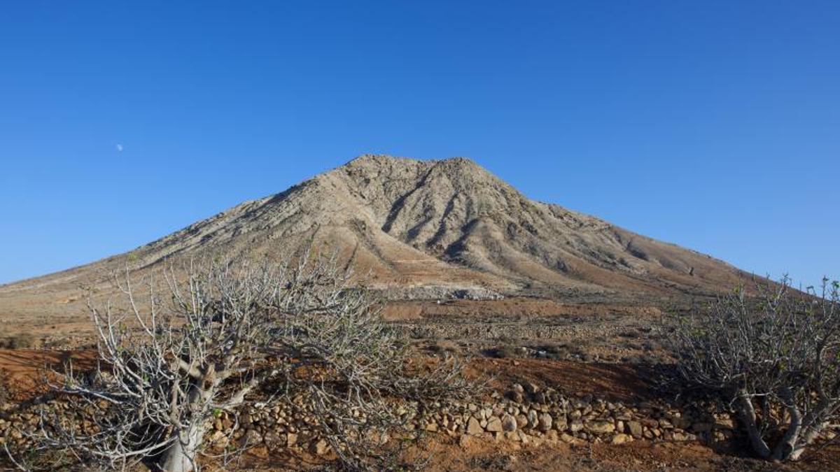 Montaña Tindaya, en Fuerteventura