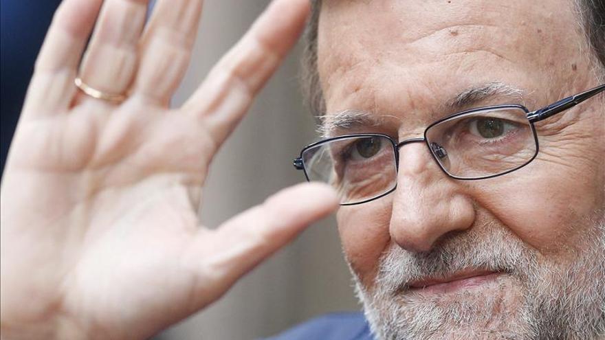 """Rajoy destaca el avance de España en la UE en cuatro años y dice: """"Nos miran mejor"""""""