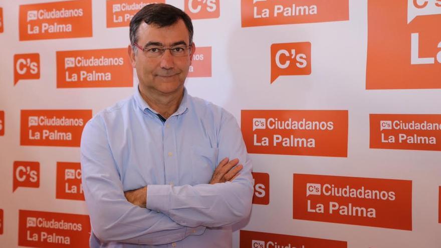 Juan Arturo Sangil, coordinador insular de Ciudadanos (C´s) en La Palma.