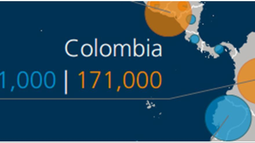 Fuente: Global Report ON INTERNAL DISPLACEMENT CNR