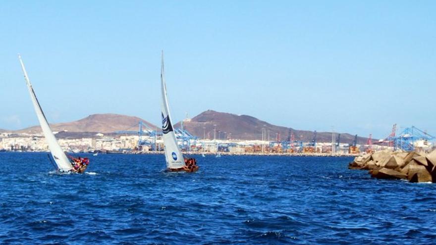 Máxima emoción en la última jornada del Campeonato Aguas de Teror de Vela Latina Canaria.