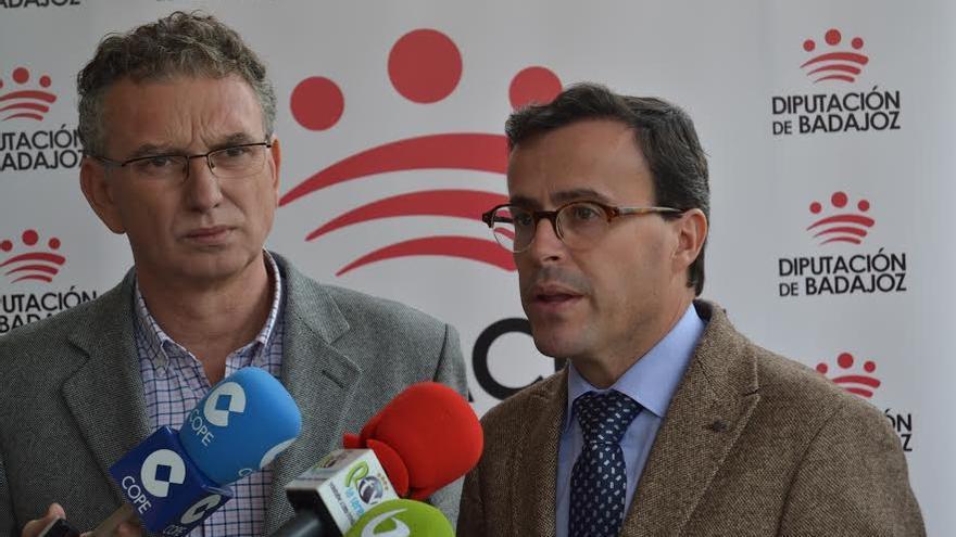Jose Luis Quintana Don Benito Miguel Angel Gallardo Villanueva Serena Diputacion Badajoz