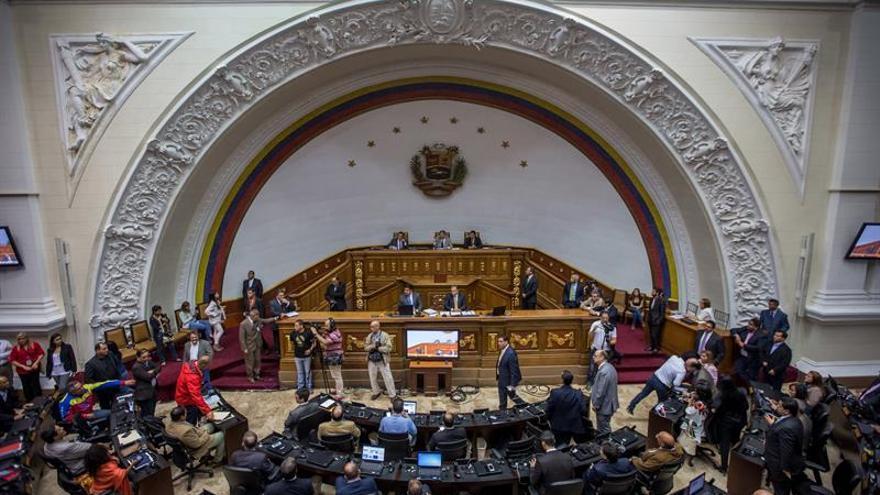 El Parlamento pospone la determinación de responsabilidad política de Maduro
