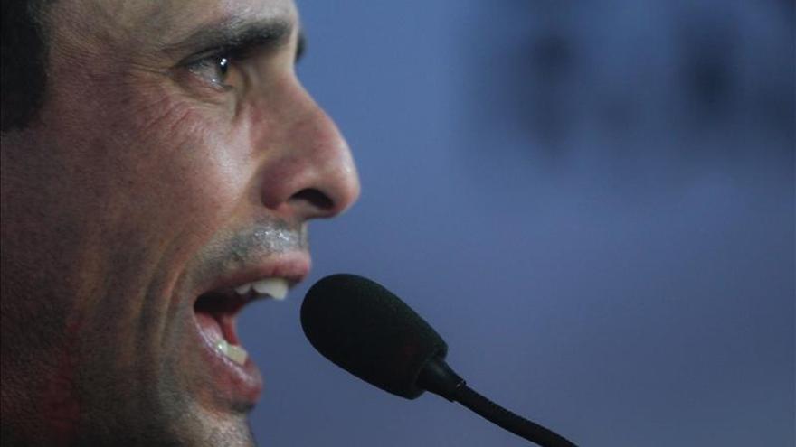 Capriles acusa al Gobierno de usar la violencia para dividir a los venezolanos