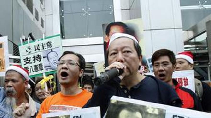 Protestas en China. (EUROPA PRESS)