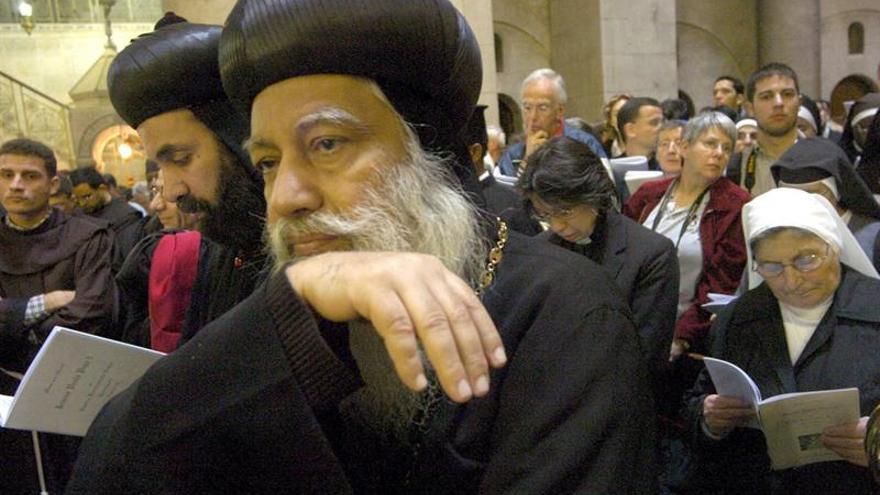 Miles de coptos egipcios visitaron Tierra Santa esta última semana