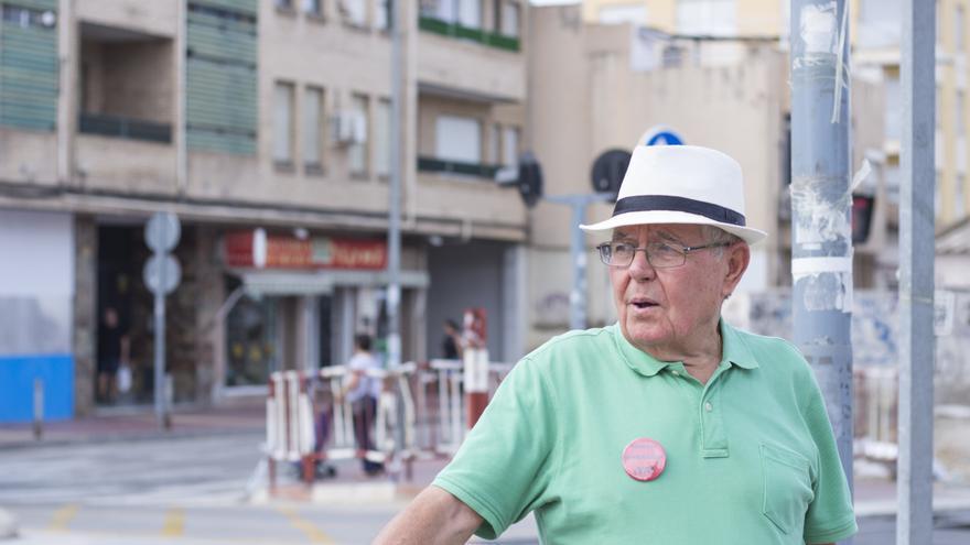 Joaquín Contreras, portavoz de la Plataforma Pro Soterramiento