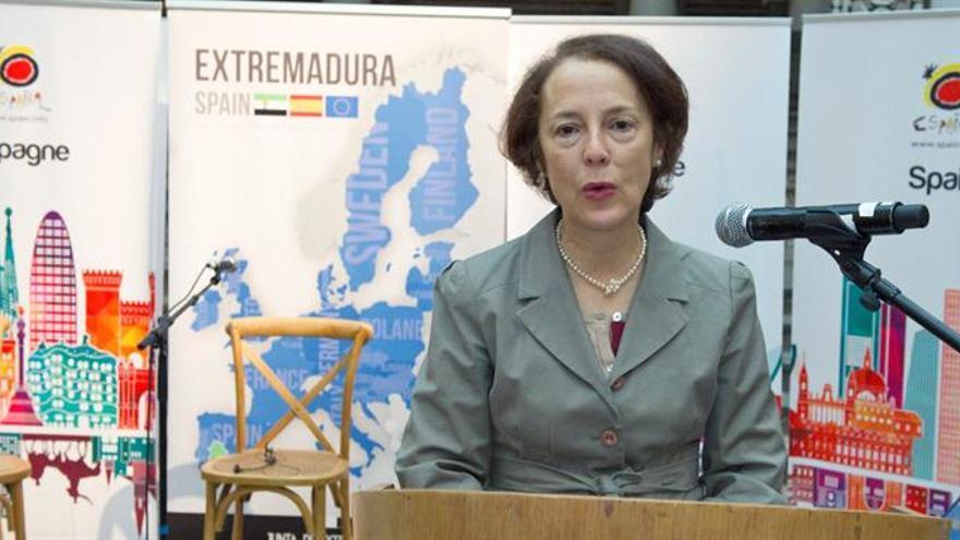 """Embajadora española en Bélgica alerta de """"amenazas"""" en ámbito ciberseguridad"""
