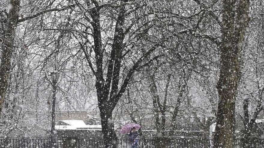 Alerta naranja en ocho provincias por nevadas