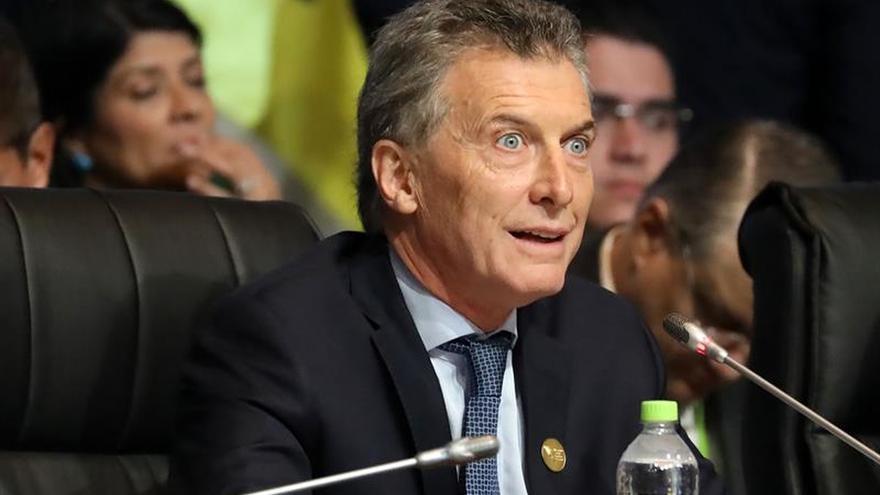 """Macri negocia con el FMI un acuerdo de """"apoyo"""" financiero para paliar el alza del dólar"""