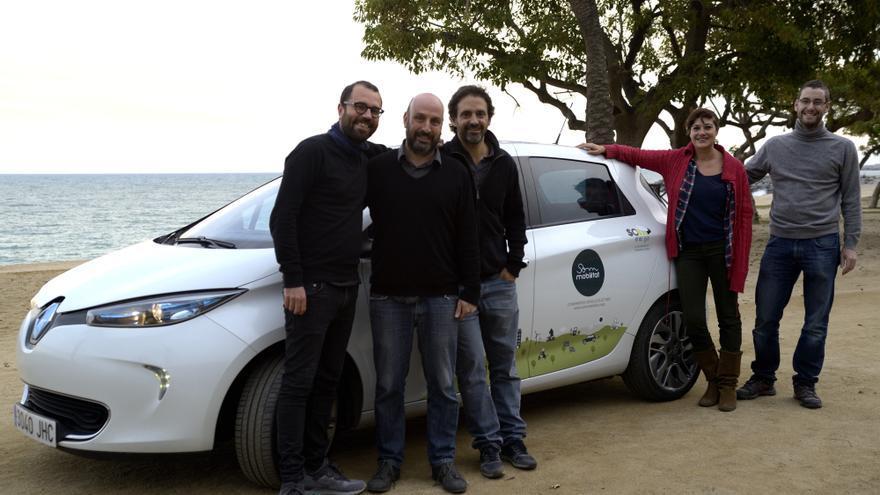 Socios fundadores de la cooperativa Som Mobilitat