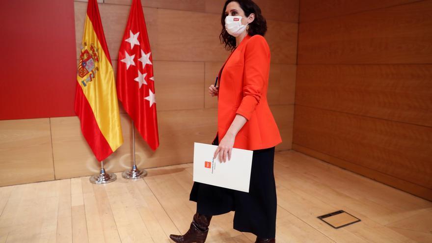 Ayuso: España me debe una, hemos sacado a Pablo Iglesias de la Moncloa