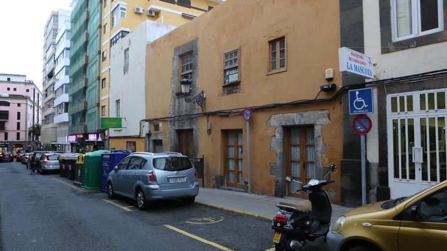 Número 11 de la calle Malteses de Las Palmas de Gran Canaria. (ALEJANDRO RAMOS)