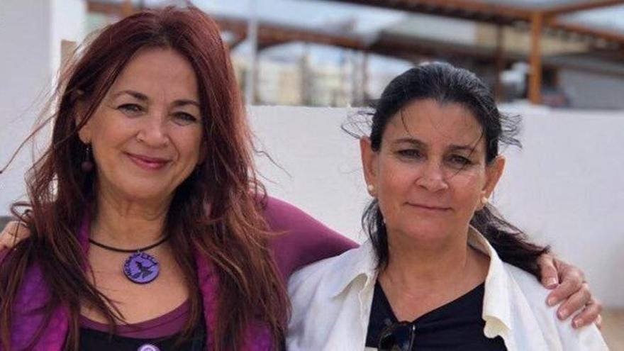 Nona Perera, a la derecha, será nombrada directora general de Patrimonio Cultural