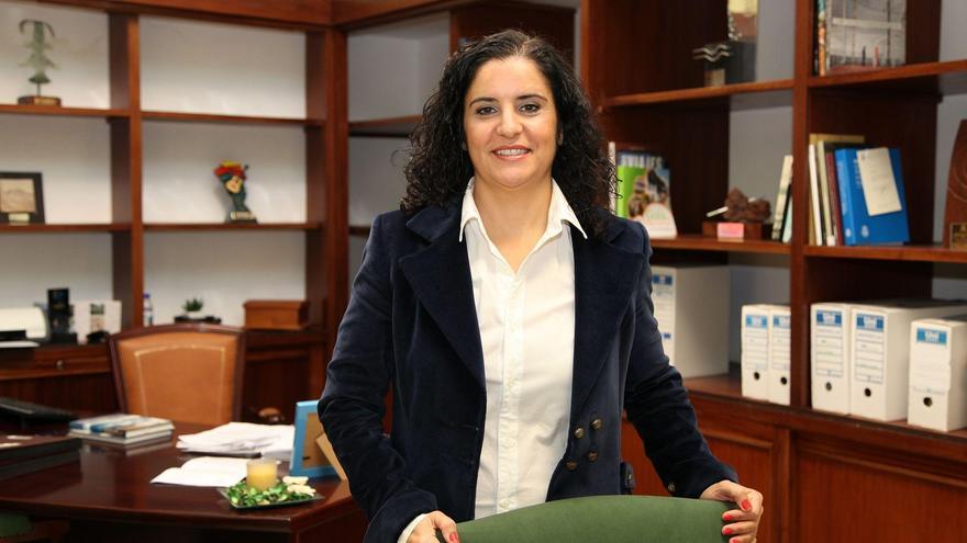 Jovita Monterrey, consejera de Asuntos Sociales del Cabildo de La Palma.
