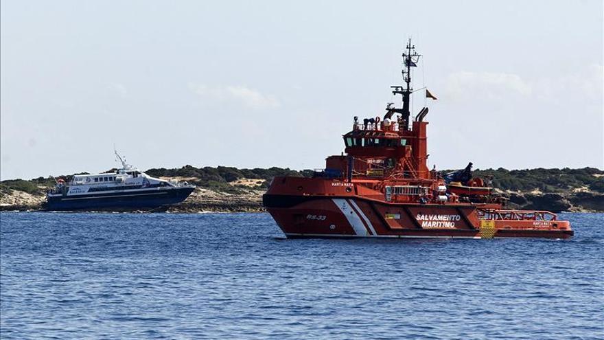 Recuperados los cuerpos de 3 tripulantes del velero francés naufragado en Formentera