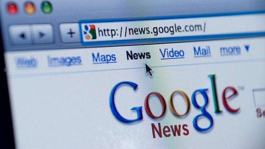 Antigua apariencia de Google News