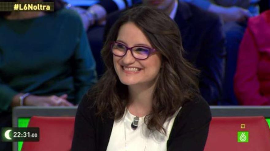 Mónica Oltra, en La Sexta Noche.