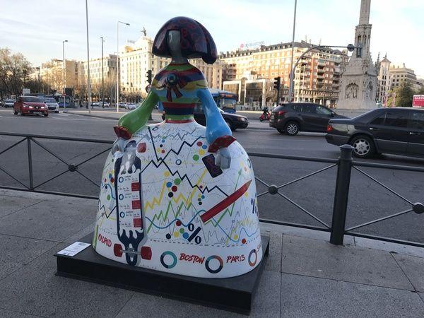 "Menina ""OpenNina"" (Carmen 10), en el Paseo de Recoletos | Somos Chueca"