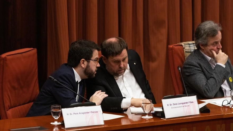 ERC y comuns defienden ante Junqueras el diálogo con el Gobierno pero la CUP es escéptica