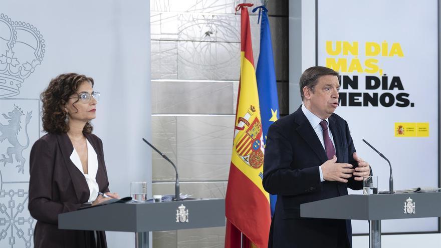 Rueda de prensa posterior al Consejo de Ministros FOTO: Moncloa