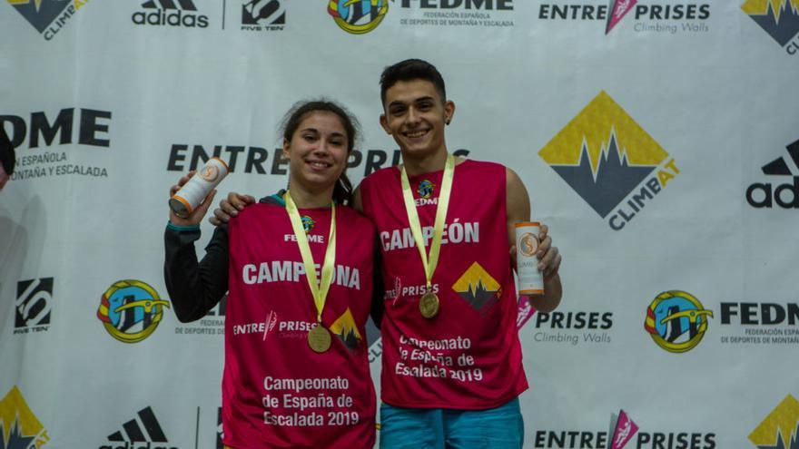 Alberto Ginés y Ana Belén Argudo (© Javi Pec).