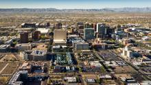 Ciudad de Phoenix desde las alturas. Jerry Ferguson (CC).