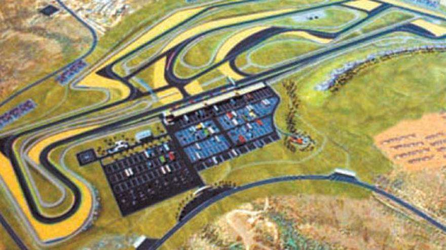 Infografía del circuito diseñado para Granadilla
