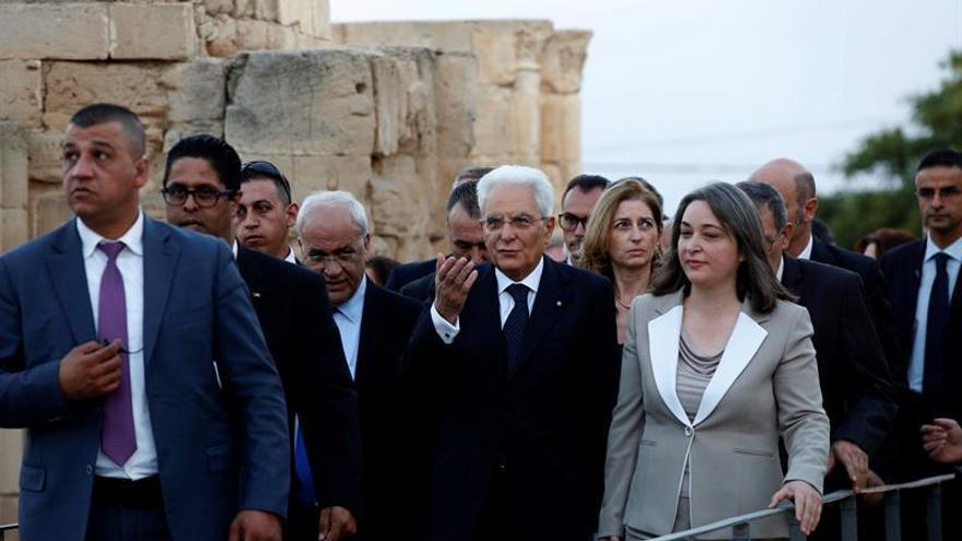 Abás dice que la paz sólo se alcanzará con el fin de la ocupación israelí