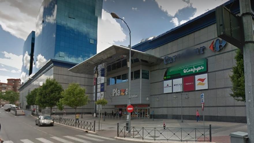 Fachada del centro comercial Plaza de la Estación / Google Maps